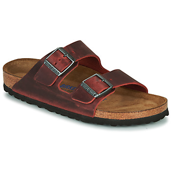 Scarpe Donna Ciabatte Birkenstock ARIZONA SFB LEATHER Bordeaux