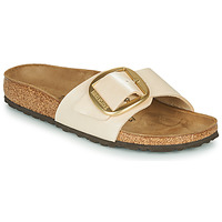 Scarpe Donna Ciabatte Birkenstock MADRID BIG BUCKLE Perla / White