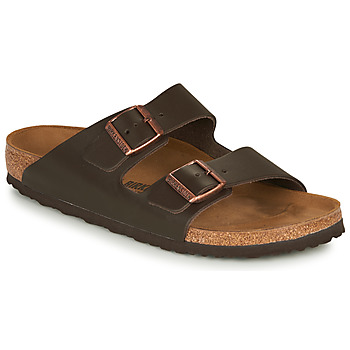 Scarpe Uomo Ciabatte Birkenstock ARIZONA LEATHER Marrone