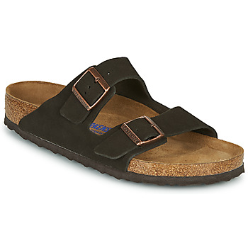 Scarpe Uomo Ciabatte Birkenstock ARIZONA SFB LEATHER Marrone