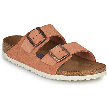 Scarpe Donna Ciabatte Birkenstock ARIZONA SFB LEATHER Rouille