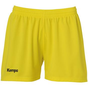 Abbigliamento Donna Shorts / Bermuda Kempa Short femme  Classic jaune citron