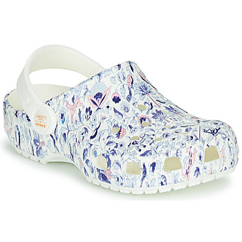 Scarpe Donna Zoccoli Crocs LIBERTY LONDON X CLASSIC LIBERTY GRAPHIC CLOG K Bianco