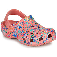 Scarpe Donna Zoccoli Crocs LIBERTY LONDON X CLASSIC LIBERTY GRAPHIC CLOG K Rosa