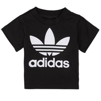 Abbigliamento Unisex bambino T-shirt maniche corte adidas Originals MARGOT Nero