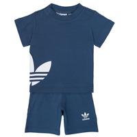 Abbigliamento Bambino Completo adidas Originals CYLIA Blu
