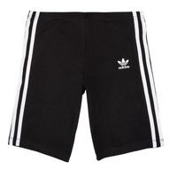 Abbigliamento Bambina Shorts / Bermuda adidas Originals EDDY Nero