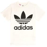 Abbigliamento Unisex bambino T-shirt maniche corte adidas Originals SARAH Bianco
