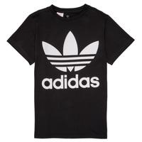 Abbigliamento Unisex bambino T-shirt maniche corte adidas Originals MAXENCE Nero