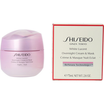 Bellezza Donna Idratanti e nutrienti Shiseido White Lucent Overnight Cream & Mask  75 ml
