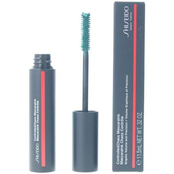 Bellezza Donna Mascara Ciglia-finte Shiseido Controlled Chaos Mascaraink 04-emerald Energy 11,5 ml
