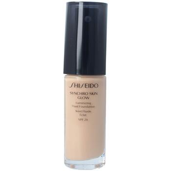 Bellezza Donna Fondotinta & primer Shiseido Synchro Skin Glow Luminizing Fluid Foundation n3 30 ml