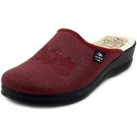 Scarpe Donna Pantofole Fly Flot Pantofole rosso bordeaux