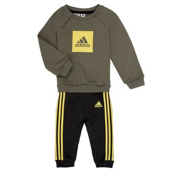 Abbigliamento Bambino Completo adidas Performance MERLO Grigio / Giallo