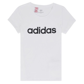 Abbigliamento Bambina T-shirt maniche corte adidas Performance NELIZO Bianco