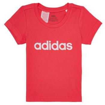 Abbigliamento Bambina T-shirt maniche corte adidas Performance MAKIT Rosa