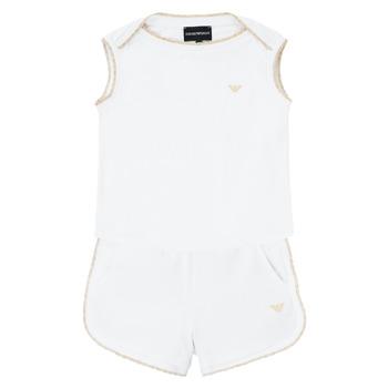 Abbigliamento Bambina Completo Emporio Armani Alain Bianco