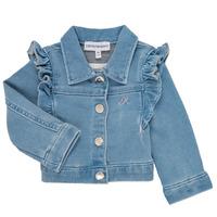 Abbigliamento Bambina Giacche / Blazer Emporio Armani Aldric Blu
