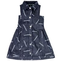 Abbigliamento Bambina Abiti corti Emporio Armani  Blu
