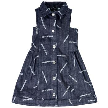 Abbigliamento Bambina Abiti corti Emporio Armani Andy Blu