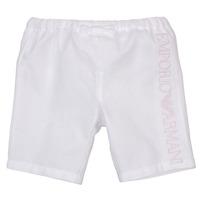 Abbigliamento Bambina Shorts / Bermuda Emporio Armani Aniss Bianco