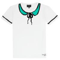 Abbigliamento Bambina T-shirt maniche corte Emporio Armani Anthonin Bianco