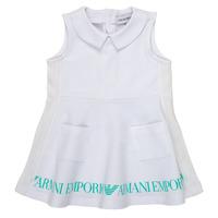 Abbigliamento Bambina Abiti corti Emporio Armani Apollinaire Bianco
