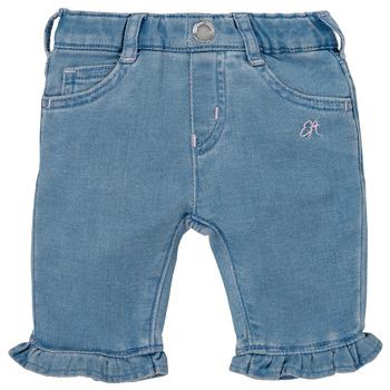Abbigliamento Bambina Pantaloni 5 tasche Emporio Armani Arthur Blu