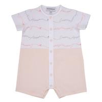 Abbigliamento Bambina Tuta jumpsuit / Salopette Emporio Armani Adem Rosa