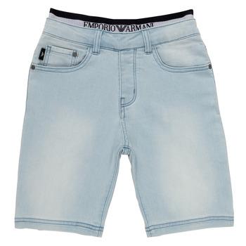 Abbigliamento Bambino Shorts / Bermuda Emporio Armani Albert Blu