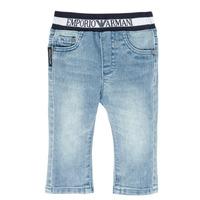 Abbigliamento Bambino Jeans dritti Emporio Armani Ange Blu