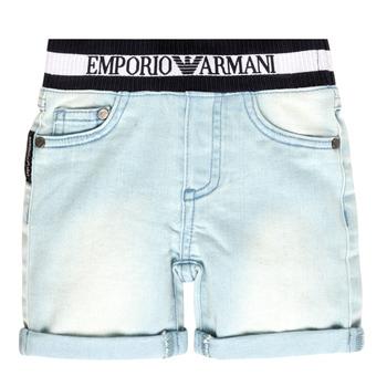 Abbigliamento Bambino Shorts / Bermuda Emporio Armani Ariel Blu