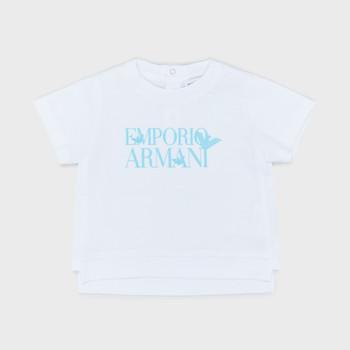 Abbigliamento Bambino T-shirt maniche corte Emporio Armani Arthus Bianco