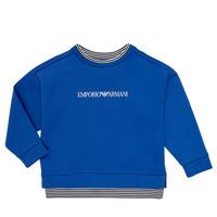 Abbigliamento Bambino Felpe Emporio Armani Aurèle Blu