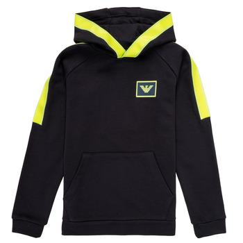 Abbigliamento Bambino Felpe Emporio Armani Abel Marine / Verde