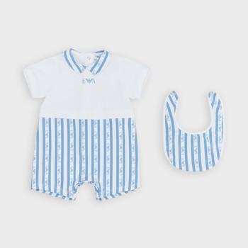 Abbigliamento Bambino Tuta jumpsuit / Salopette Emporio Armani Adam Blu