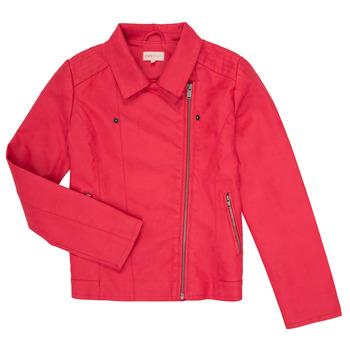 Abbigliamento Bambina Giacca in cuoio / simil cuoio Only KONCARLA Rosa