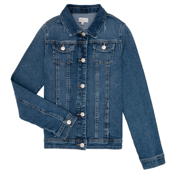 Abbigliamento Bambina Giacche in jeans Only KONSARA Blu