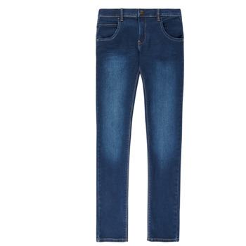 Abbigliamento Bambino Jeans slim Name it NITTAX Blu