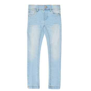 Abbigliamento Bambina Jeans slim Name it NMFPOLLY DNMCILLE Blu