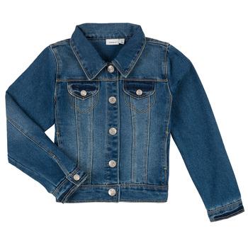 Abbigliamento Bambino Giacche in jeans Name it NITSTAR RIKA Blu