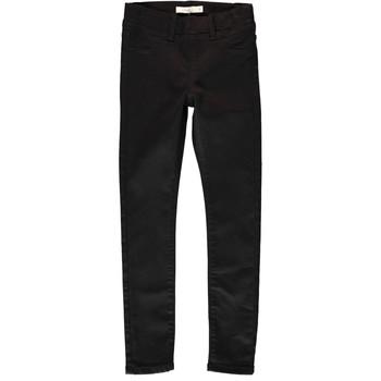 Abbigliamento Bambina Pantaloni 5 tasche Name it NITTINNA Nero