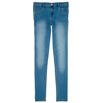 Abbigliamento Bambina Jeans slim Name it NKF POLLY DNMTASIS Blu