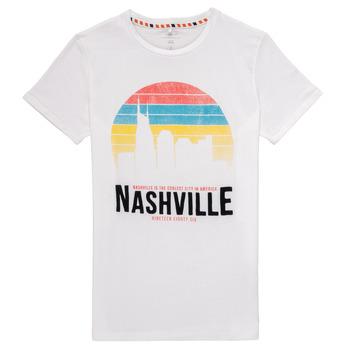 Abbigliamento Bambino T-shirt maniche corte Name it NKMDPOPS Bianco
