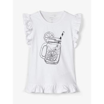 Abbigliamento Bambina Top / T-shirt senza maniche Name it NKFZELANA Bianco