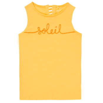Abbigliamento Bambina Top / T-shirt senza maniche Name it NKFFAMILA Giallo