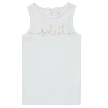 Abbigliamento Bambina Top / T-shirt senza maniche Name it NKFFAMILA Bianco