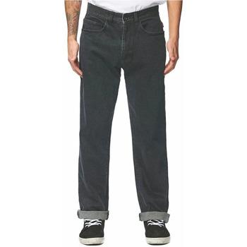 Abbigliamento Uomo Jeans dritti Globe GB01816020 Nero
