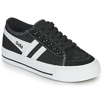 Scarpe Unisex bambino Sneakers basse Gola QUOTA II Nero / Bianco