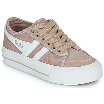 Scarpe Unisex bambino Sneakers basse Gola QUOTA II Rosa / Bianco